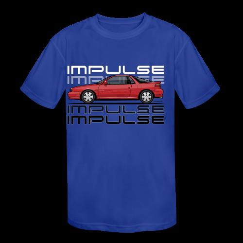 Usuzi Impulse RS Red - Kids' Moisture Wicking Performance T-Shirt