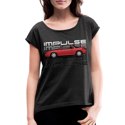 Usuzi Impulse RS Red - Women's Roll Cuff T-Shirt