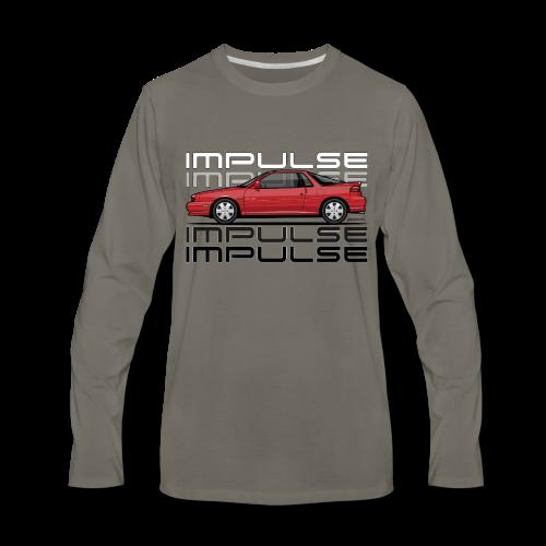 Usuzi Impulse RS Red - Men's Premium Long Sleeve T-Shirt