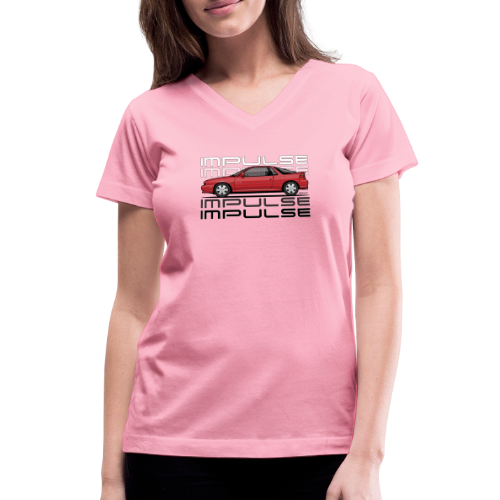 Usuzi Impulse RS Red - Women's V-Neck T-Shirt