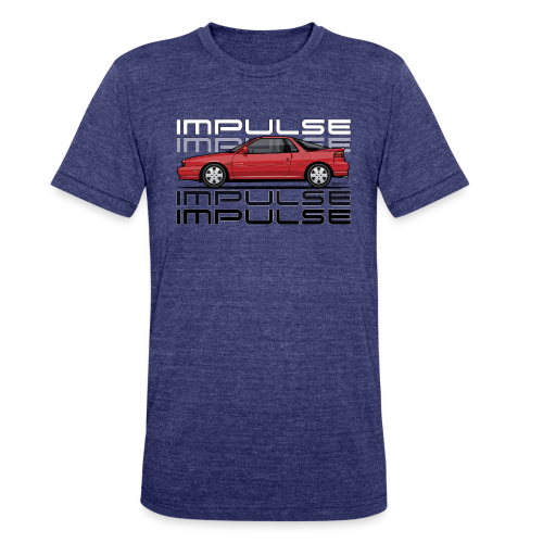 Usuzi Impulse RS Red - Unisex Tri-Blend T-Shirt