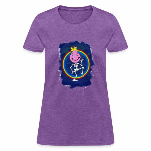 Cute Oily Girl - Women's T-Shirt