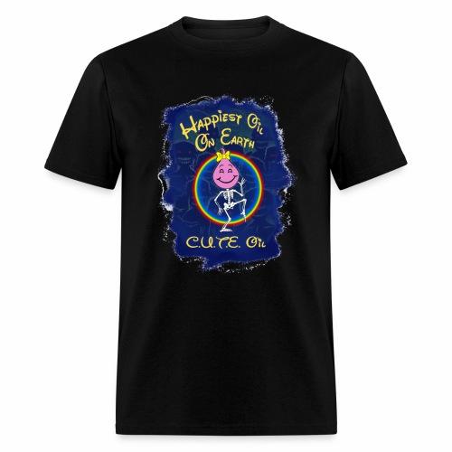 The Happiest Oil Girl - Men's T-Shirt