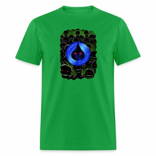 Bad Oil Zombies Lurking - Men's T-Shirt