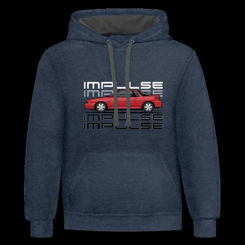 Usuzi Impulse RS Red - Contrast Hoodie