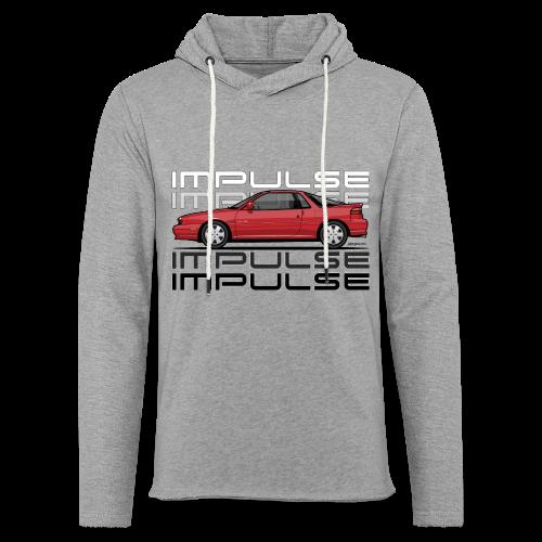 Usuzi Impulse RS Red - Unisex Lightweight Terry Hoodie