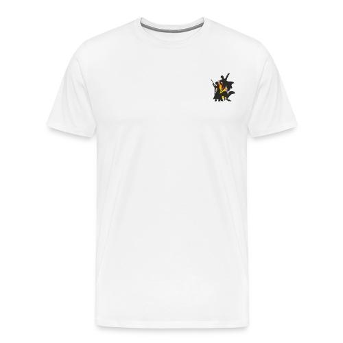 Geek Forge Logo - Men's Premium T-Shirt