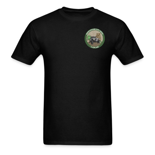 Underground Explorers Overland Logo Tee with flag - Men's T-Shirt