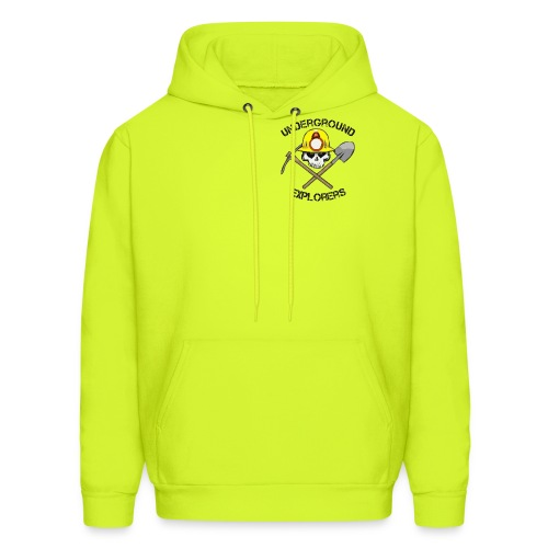 Underground Explorers Bright Yellow Hoodie - Men's Hoodie