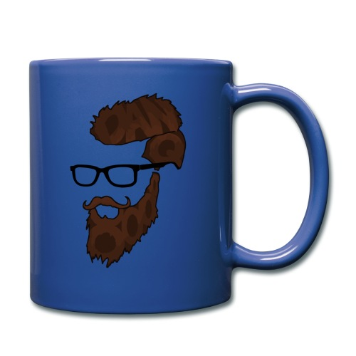 DanQ8000 Beard Logo Mug - Full Color Mug