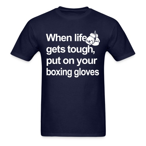 Put On Your Gloves Tee - Men's T-Shirt