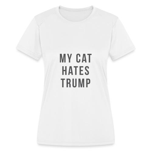 Trump Cat | Women - Women's Moisture Wicking Performance T-Shirt