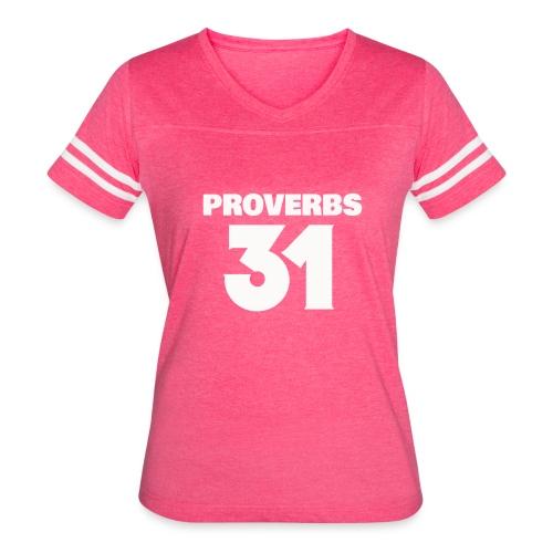 proverbs mother - Women's Vintage Sport T-Shirt