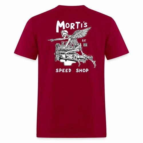 Morti's Speed Shop - Men's T-Shirt