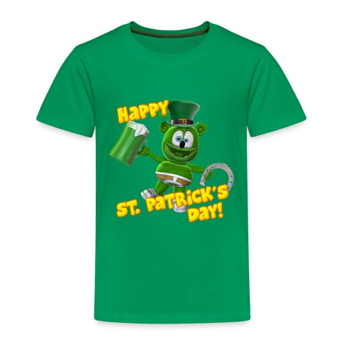 Gummibär (The Gummy Bear) St. Patrick's Day Toddler T-Shirt - Toddler Premium T-Shirt