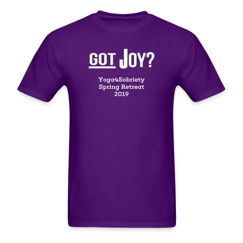 Mens Joy of Living Retreat 2019 - Men's T-Shirt