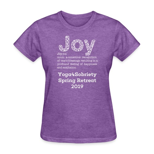 The Joy of Living Retreat 2019 - Women's T-Shirt