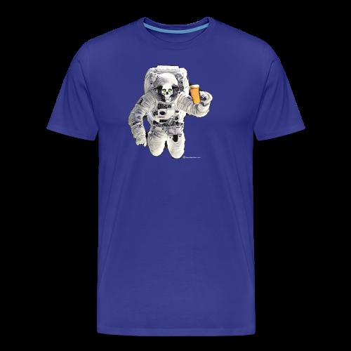 HOPSKULL Astronaut Men's Premium T-Shirt - Men's Premium T-Shirt