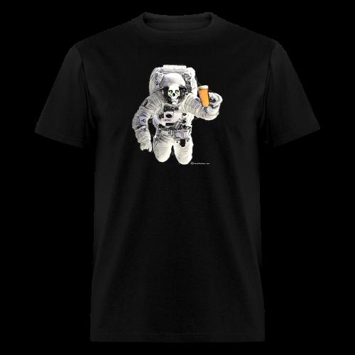 HOPSKULL Astronaut Men's T-Shirt - Men's T-Shirt