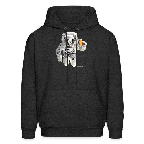 HOPSKULL Astronaut Men's Hoodie - Men's Hoodie