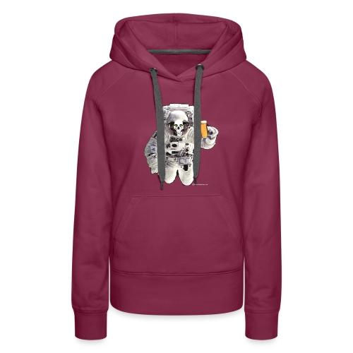 HOPSKULL Astronaut Women's Premium Hoodie - Women's Premium Hoodie