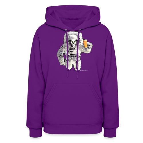 HOPSKULL Astronaut Women's Hoodie - Women's Hoodie