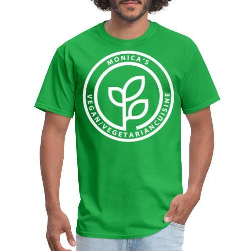 Monica's Vegan Front Logo Tee - Men's T-Shirt