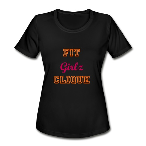 FGC Hustle Tee - Women's Moisture Wicking Performance T-Shirt