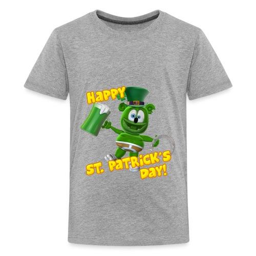 Gummibär (The Gummy Bear) St. Patrick's Day Kids' T-Shirt - Kids' Premium T-Shirt
