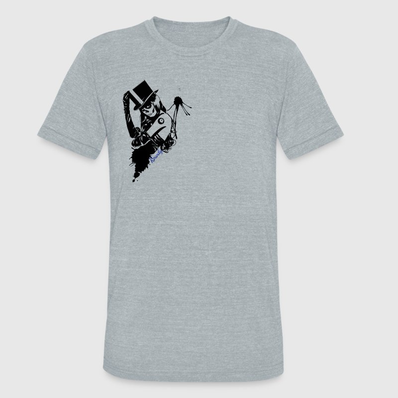 Rowdy Gear Logo - Unisex Tri-Blend T-Shirt by American Apparel