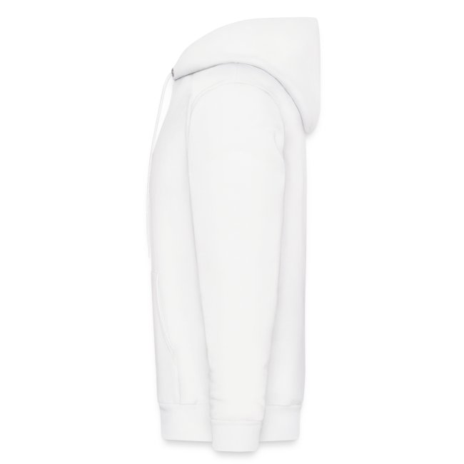 Men's Original White Hoodie (Sleeve)