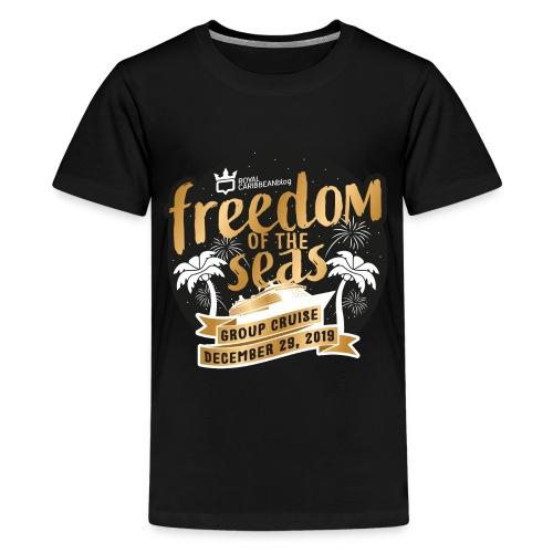 Kid's Freedom of the Seas Group Cruise Shirt - Kids' Premium T-Shirt