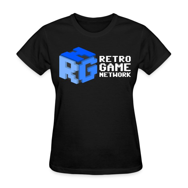Retro Game Network Logo T-shirt (Ladies)