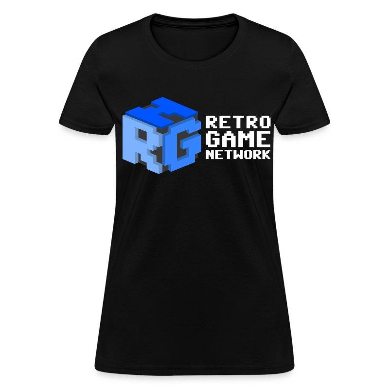 Retro Game Network Logo T-shirt (Ladies) - Women's T-Shirt