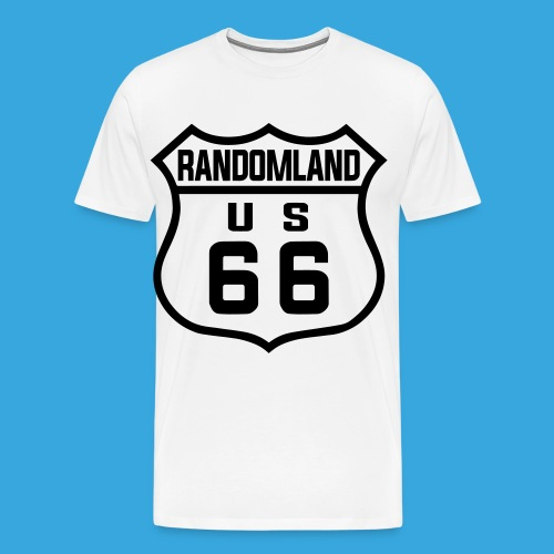 Randomland 66 Premium (& plus size) T! - Men's Premium T-Shirt