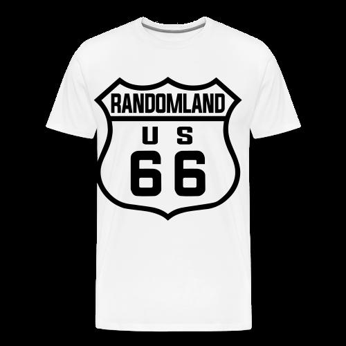 Randomland 66 Premium (& plus size) T! - Men's Premium T-Shirt