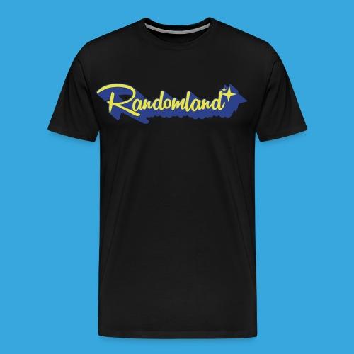 Super Randomland - PREMIUM T-Shirt (Plus + Sizes!) - Men's Premium T-Shirt