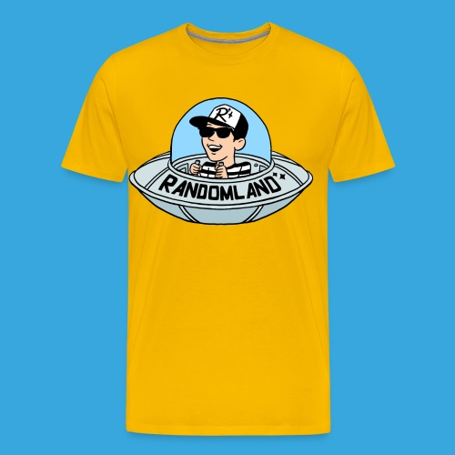 Randomland UFO Premium T (Plus sizes!) - Men's Premium T-Shirt