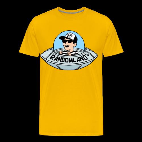 Randomland UFO Premium T (Plus sizes!) - Men's Premium T-Shirt