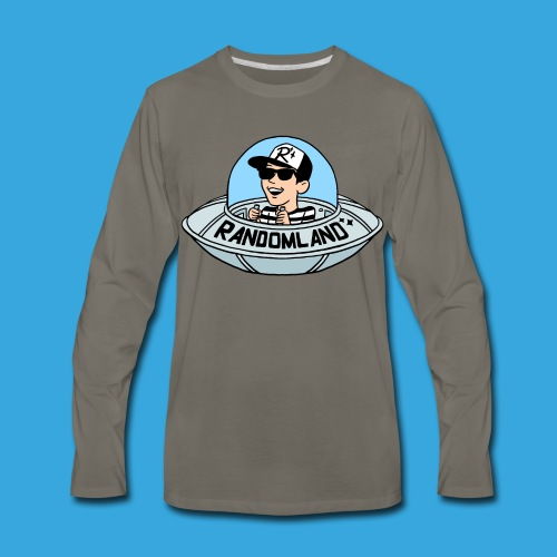 Randomland UFO Long Sleeve - Men's Premium Long Sleeve T-Shirt