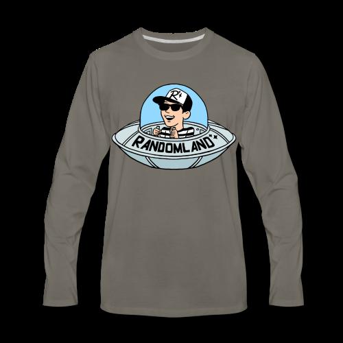Randomland UFO Long Sleeve - Men's Premium Long Sleeve T-Shirt