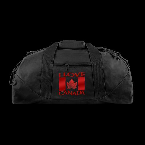 I Love Canada Duffel Bags Canada Gym Bags - Duffel Bag