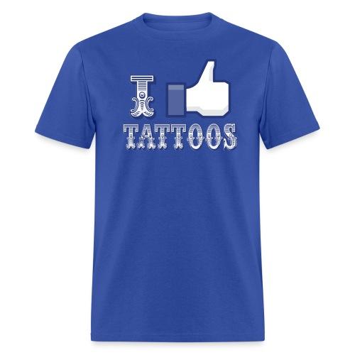 I Love Tattoos T-Shirt - Men's T-Shirt