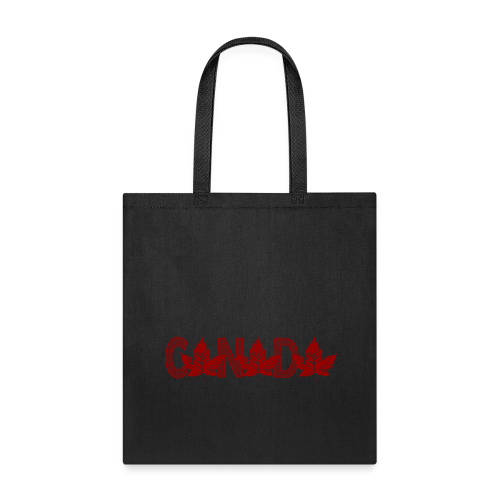 Tote Bag - Cool Canada Tote Bags Canadian Maple Leaf Souvenir Bags Canada Tote Bags for Teams Men Women & Kids Original Canada Souvenir Eco-friendly Shopping Bags Gifts Art & Canada Maple Leaf Bags and Souvenirs Design by Canadian Artist Designer Kim Hunter. See www.kimhunter.ca for much more art design and custom Canada souvenirs online.