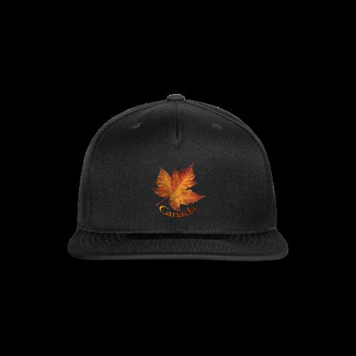 Autumn Canada Maple Leaf Souvenir Caps - Snap-back Baseball Cap