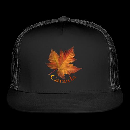 Canada Maple Leaf Trucker Caps Canada Souvenir Caps - Trucker Cap