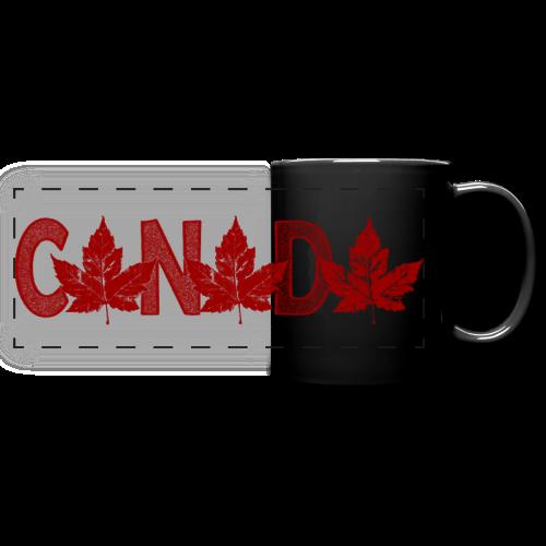 Canada Souvenir Cups Cool Canada Maple Leaf Mugs  - Full Color Panoramic Mug