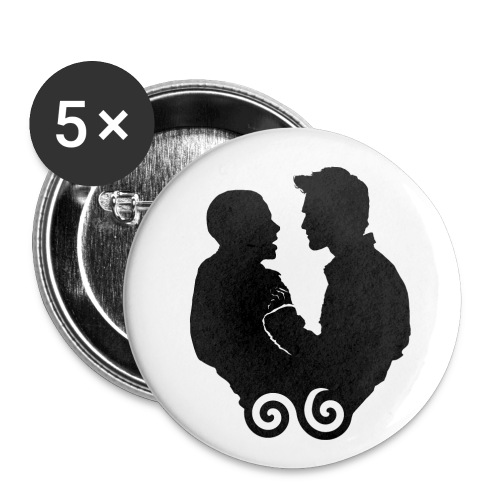 Sterek large pin pack - Large Buttons