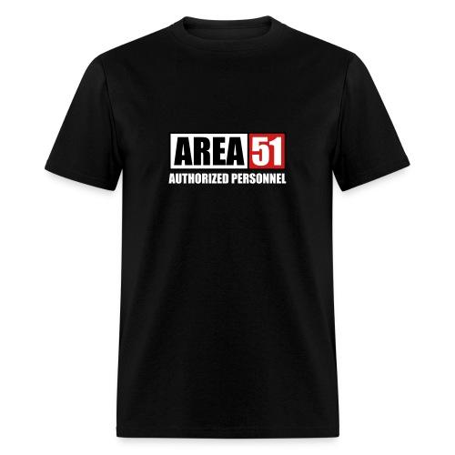 Area 51 Autorized personnel - Men's T-Shirt