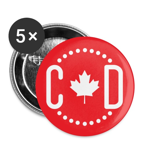 Button Canada Diario 2 - Buttons large 2.2'' (5-pack)